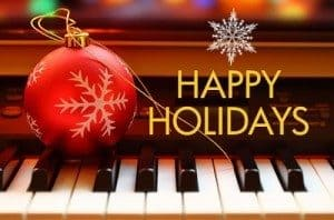 Happy Holidays Piano