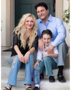 Oksana Alex Family