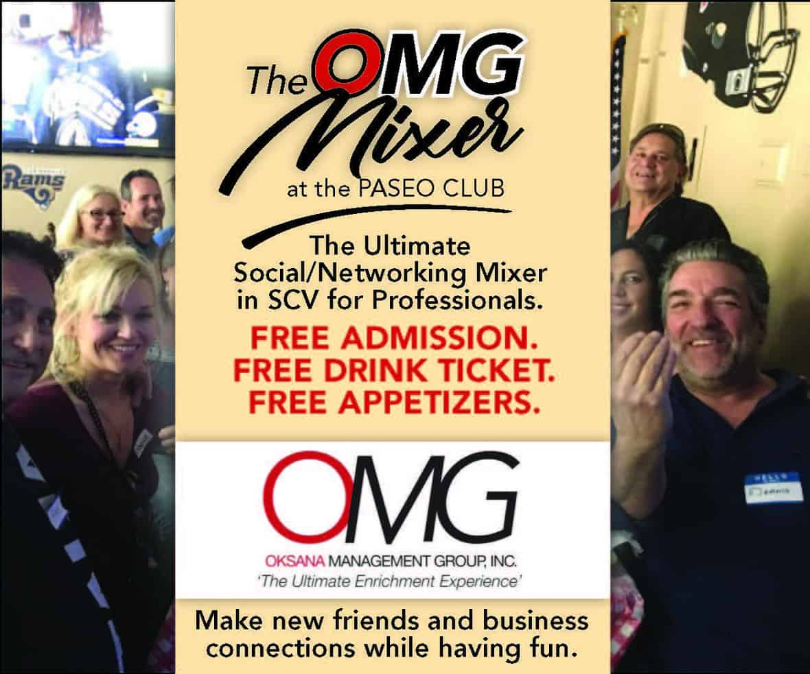 OMG Next Social Mixer Ad