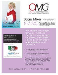 Nov 7 OMG Mixer