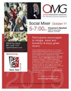 OMG Social Mixer Oct 11
