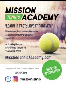 Mission Tennis Academy