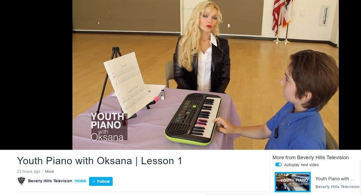 Oksana Beverly Hills TV