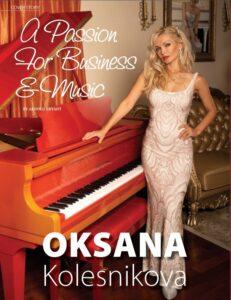 Oksana Kolesnikova, A Passion for Business - Music Inside