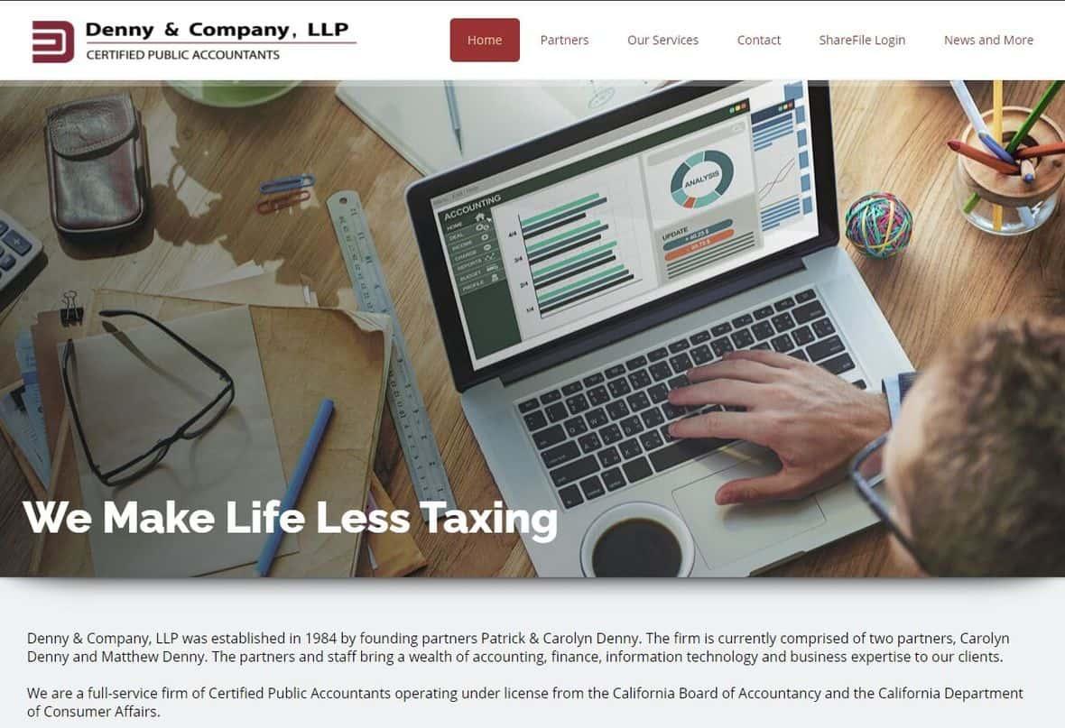 Denny & Company website